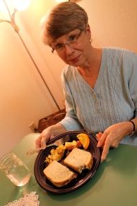 mom's yummy sandwich