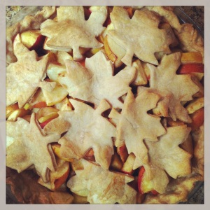 carmel apple - apple pie